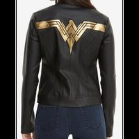 【USA直輸入】DC ワンダーウーマン  ジャスティスリーグ フェイクレザー レディース ジャケット モータージャケット  DCコミックス Wonder Woman