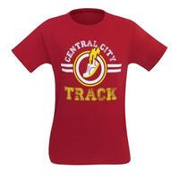 【USA直輸入】DC フラッシュ セントラルシティ トラック Tシャツ DCコミックス