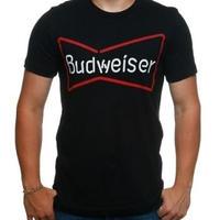 【USA直輸入】ドリンク バドワイザー Budweiser Tシャツ Sサイズ ビール 企業