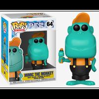 【USA直輸入】POP! PEZ  AD ICONS MIMIC THE MONKEY ミミック・ザ・モンキー 64 ポップ フィギュア FUNKO ファンコ 企業  オリジナルキャラクター