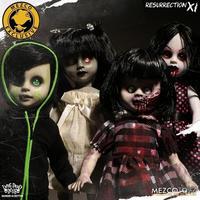 【USA直輸入・限定品】リビングデッドドールズ リザレクションⅪ 4体セット LDD リビデ メズコ ドール 人形