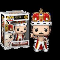 【USA直輸入】POP! Rocks Queen フレディ マーキュリー 184 FUNKO ファンコ フィギュア クィーン ボヘミアン・ラプソディ 王冠  ネブワース