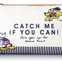 [ディズニー] DISNEY  CCP ディスニー ミッキーマウス プルート ポーチ ペンポーチ キャッチ
