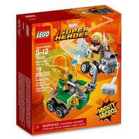 【USA直輸入】MARVEL  LEGO Mighty Micros ソー VS ロキ プレイセット スーパーヒーローズ マイティソー マーベル レゴ LOKI
