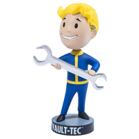 【USA直輸入】フォールアウト76 ボルトボーイ バブルヘッド Repair  シリーズ1 Fallout  Vault-Tec ボルトテック  111 GAME ゲーム フィギュア
