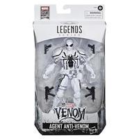 【USA直輸入】MARVEL マーベル レジェンド シリーズ マーベル80周年 エージェント アンチ・ヴェノム アクションフィギュア 6インチ Legends  Series ベノム