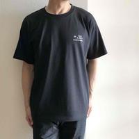 PLUS MANIAロゴTシャツ ブラック