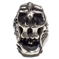 DALI'S NUDE SKULL RING(LIMITED108/SILVER)