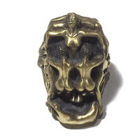 NUDE SKULL RING(LIMITED108/真鍮)