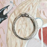 ウロボロスの指輪(石なし/シルバー)