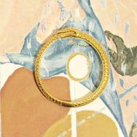 ウロボロスの指輪(石なし/ゴールド)