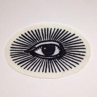 All seeing eye ワッペン