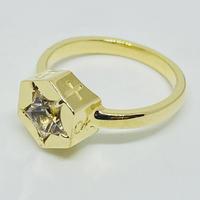 7 SYMBOL RING(GOLD)