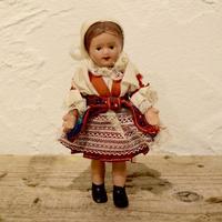 チェコ 民族衣装のお人形 モラヴィア地方の花嫁