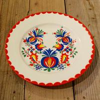 チェコ 飾り皿 ザクロ