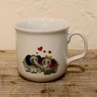 チェコ ゾウのカップル マグカップ