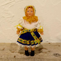 民族衣装のお人形 ピエシチャニ(スロバキア)