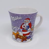 ドイツ ミルカ ノベルティマグカップ サンタさんと森の動物たち