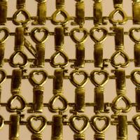 ドイツ ドレスデン ホイル ハートの鍵 24セット