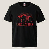 LAMP IN TERREN / TOUR「SEARCH+ #007」Tシャツ(ブラック)