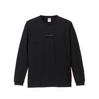 DENIMS / 3Dロゴ刺繍ロンTEE (ブラック)