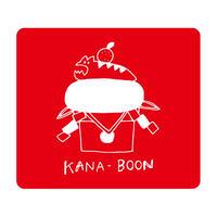 KANA-BOON / アサヒモチ リストバンド【レッド】