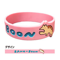 KANA-BOON / アサヒレンのラバーバンド/ピンク