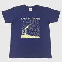 LAMP IN TERREN / 流れ星 Tシャツ(ナイトブルー)