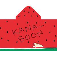 KANA-BOON / フード付 スイカタオル