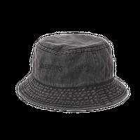 DENIMS / ロゴ刺繍バケットハット(黒)