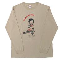 MASH A&R / 【通常配送/送料あり】Mashroom2021 オフィシャルTシャツ<カーキベージュ>(designed by 松本大)