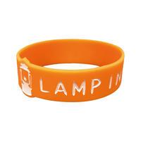 LAMP IN TERREN / ロゴラバーバンド(オレンジ)