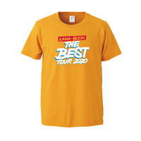 KANA-BOON / KANA-BOON THE BEST TOUR 2020 ロゴTシャツ/ゴールド