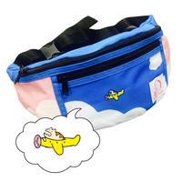 KANA-BOON / ひこうきとレンちゃんの青空ウエストバッグ