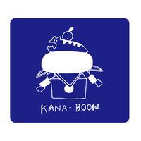 KANA-BOON / アサヒモチ リストバンド【ブルー】