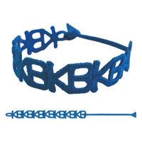 KANA-BOON / KB刺繍ブレスレット/ブルー