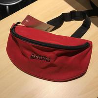 DENIMS / 3Dロゴ刺繍ベルトバッグ(レッド)