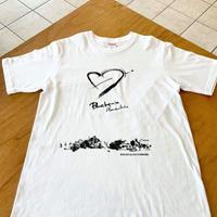 ブルーインパルス墨画Tシャツ「ヴァーティカルキューピット」