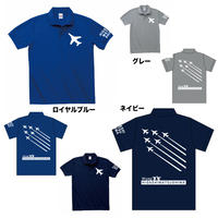 オリジナルポロシャツ 各色(ロイヤルブルー・ネイビー・グレー)