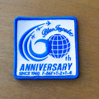 Blue Impulse 60th ANNIVERSARY パッチ 両面ベルクロ付