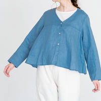 Heavenly 2024205 Belguim Linen Vneck Cardigan