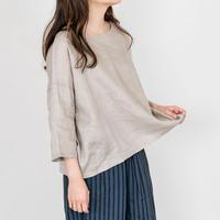 Heavenly 2024206 Belguim Linen Half Sleeve Pullover