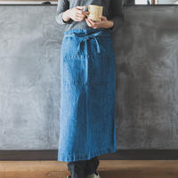 teint TE-011D Cotton Linen Denim Garcon Apron