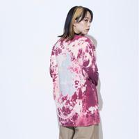 ING YOU back print long sleeve T-shirts [ tie-dye ]