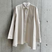 VU - basic shirt [ OFF WHITE ]