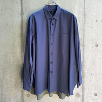 VUy - two slit shirt [ BLUE ]