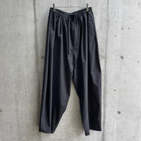 my beautiful landlet - TECHNO WIDE EASY PANTS [ BLK ]