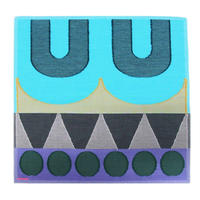 POLSハンカチ WHK-0001  BLUE 播州織ハンカチ