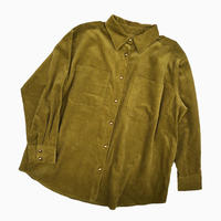 BIG CORDUROY BLOUSON [GREEN]