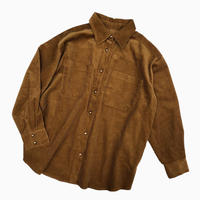 BIG CORDUROY BLOUSON [BROWN]